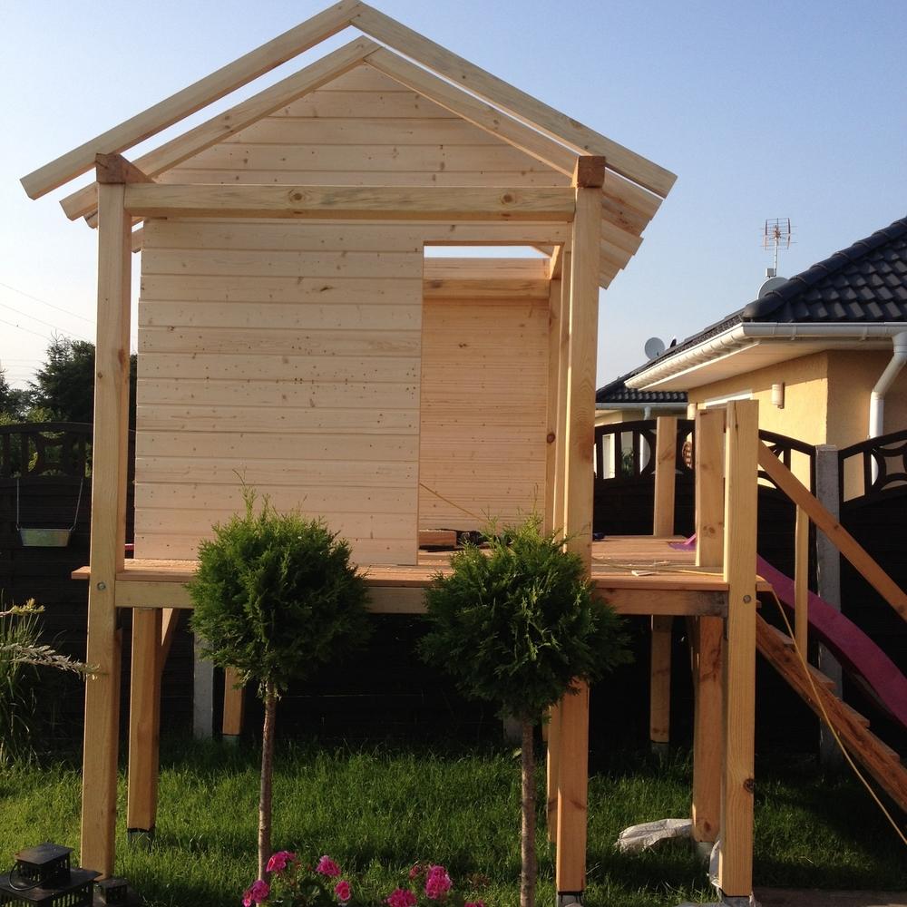 Wszystkie nowe Jak Zbudować Domek dla Dziecka // How to Build the Kids Garden JU28