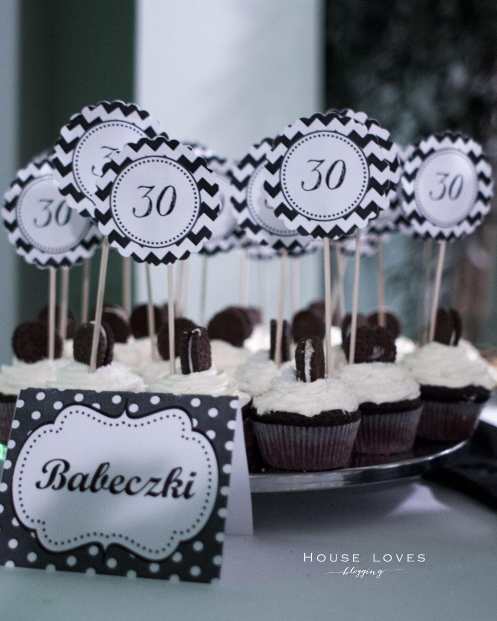 Black White Party Jak Udekorować Urodziny Dla Dorosłych House