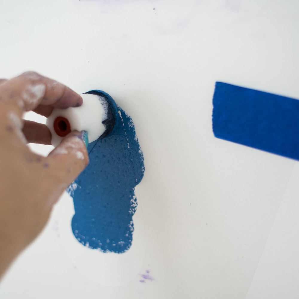 - 15 -  w ten sposób jednorazowe malowanie, było wystarczające i nie musiałam czekać, aby wyschło.