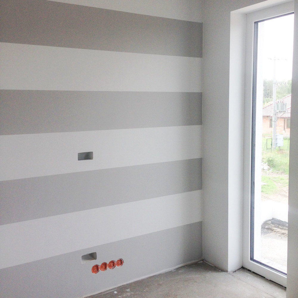 - 14 - ściana gotowa
