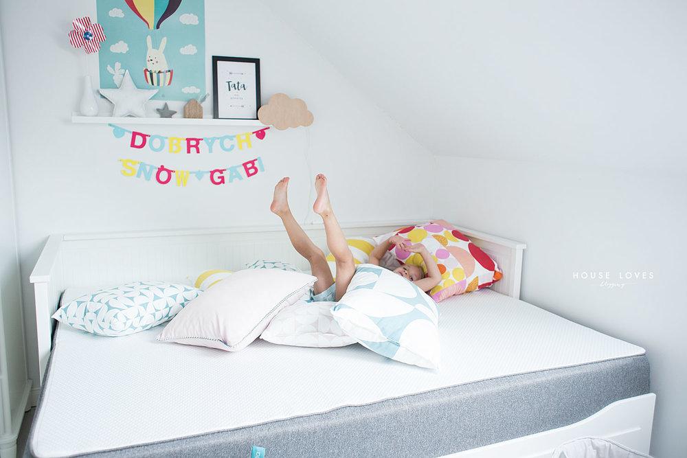 Materac I łóżko Dla Dziecka Mój Wybór House Loves