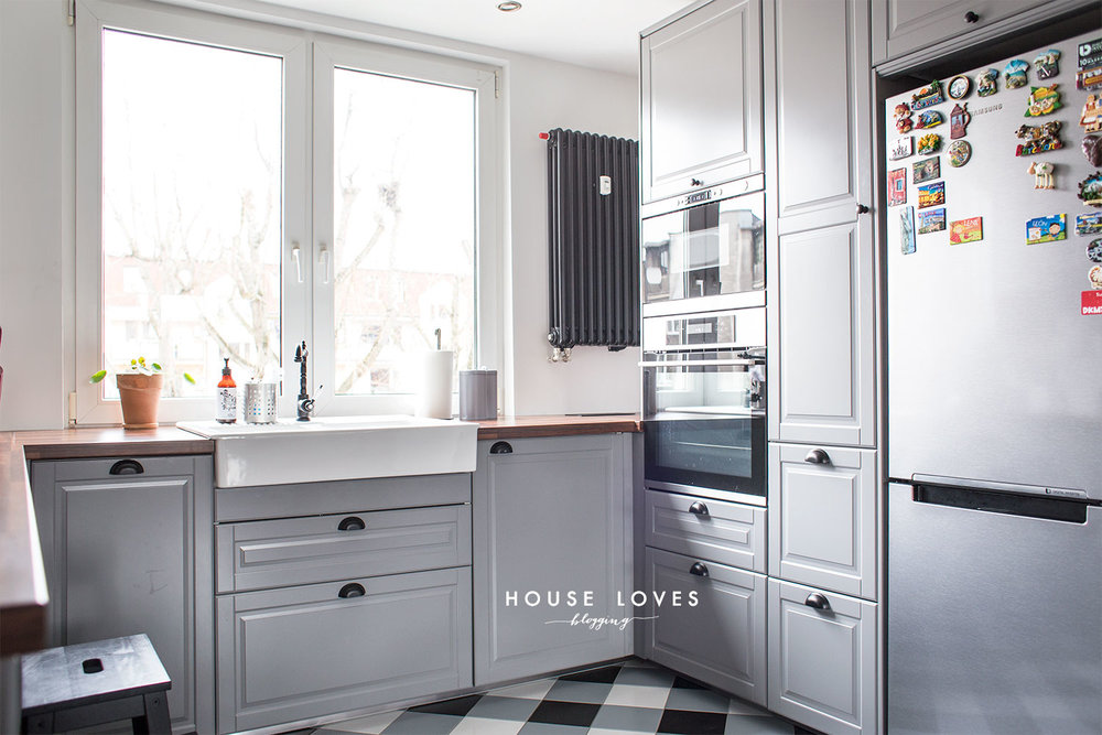 projekt kuchni z szarymi frontami ikea bodbyn � house loves