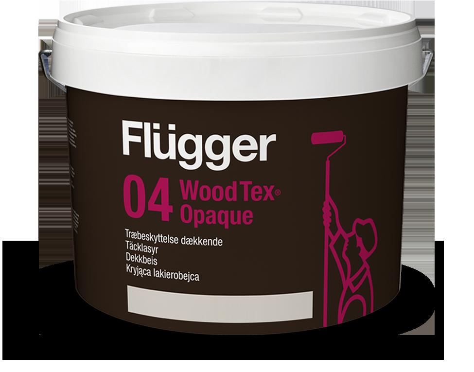Kryjąca lakierobejca - Flügger 04 Wood Tex Opaque >>> link