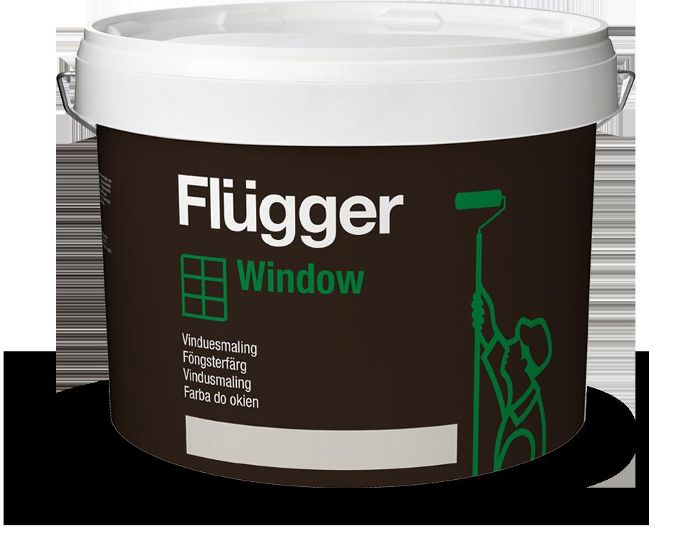 Farba akrylowa - Flügger Wood Tex Window >>> link