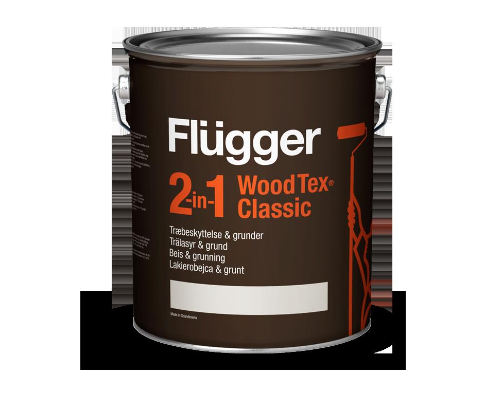 Preparat gruntujący i bejca do drewna na bazie oleju w jednym - Wood Tex 2 in 1 Classic
