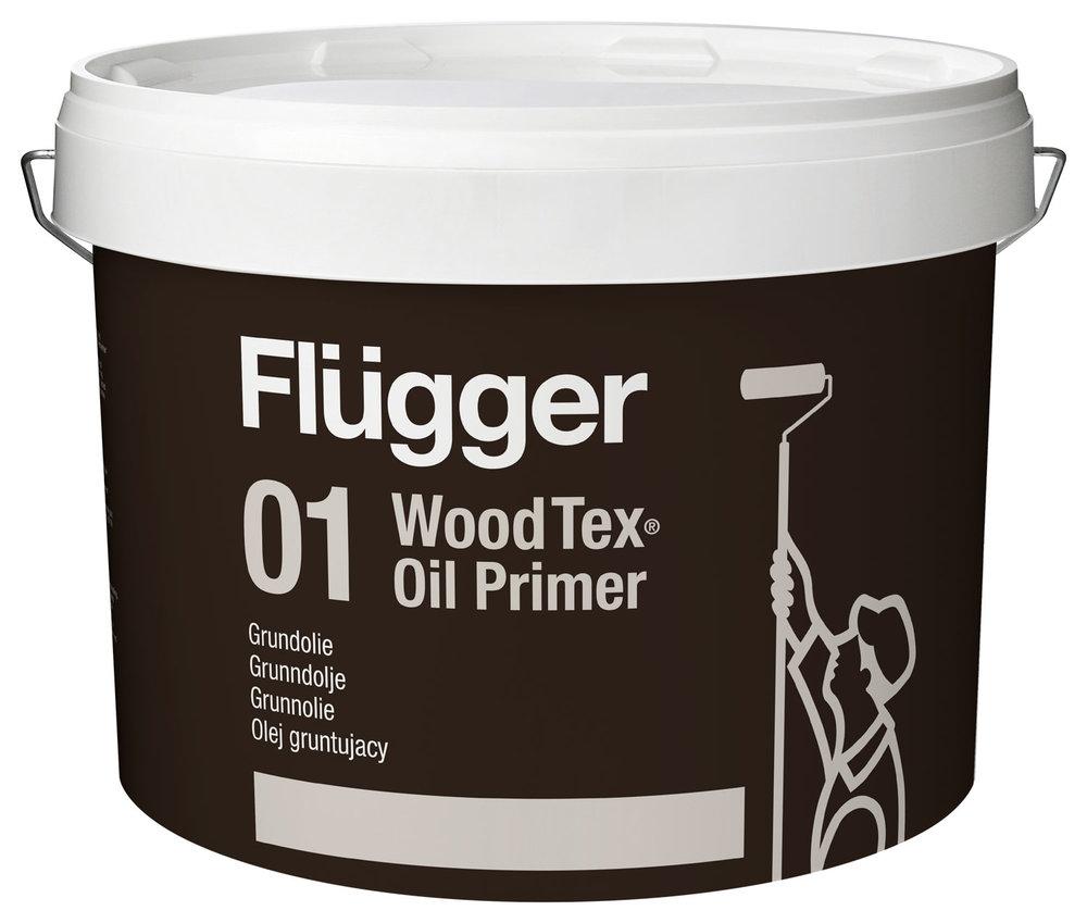 Olej gruntujący - Flügger 01 Wood Tex Oil Primer