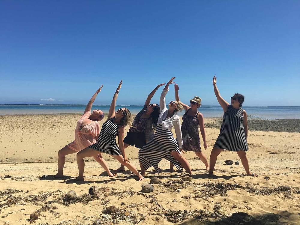 Yoga Corner Retreat Fiji Oct 2015 Daku Resort