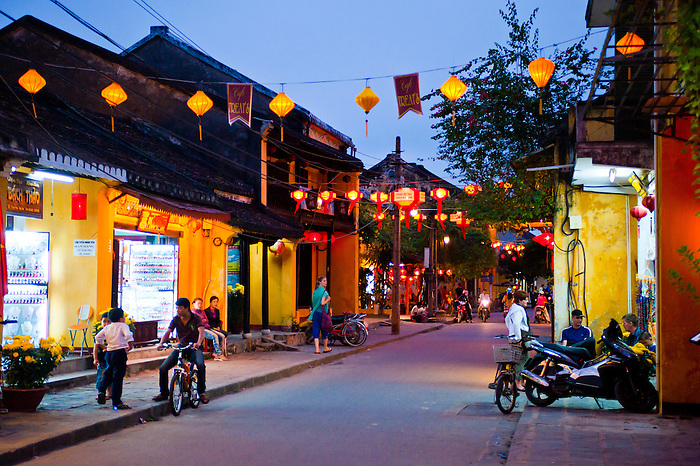 You'll visit Hoi An's old town which is a UNESCO World Heritage Site.
