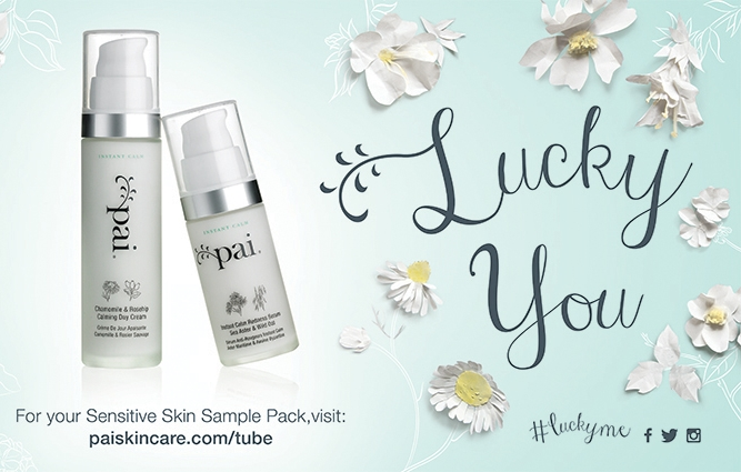 Pai Skincare Tube Campaign Hand-crafted poster design for Pai Skincare tube campaign.