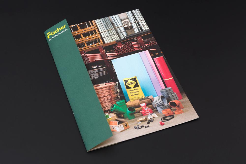 Corporate Publishing für den Baugrosshandel Fischer