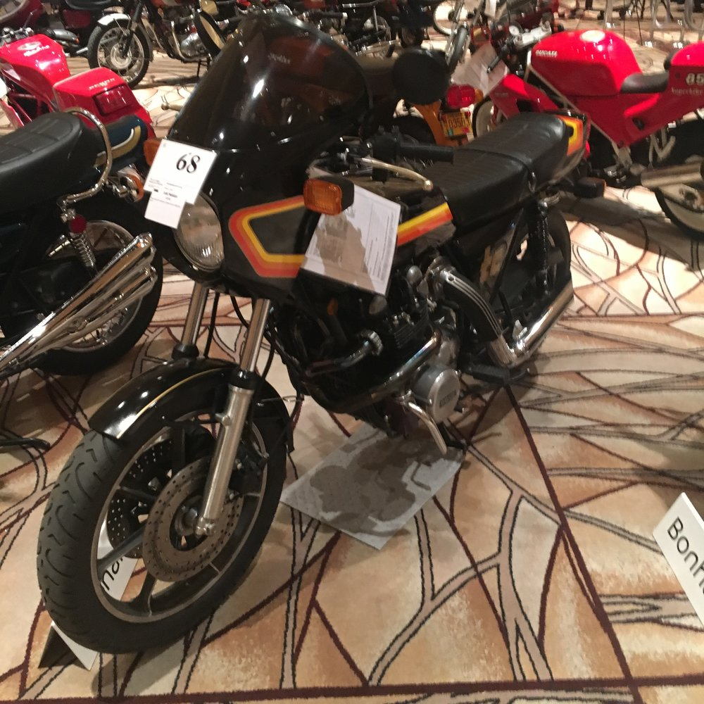 I think this 1978 Kawasaki Z1R-TC made for just two years was a buy at $16,000.