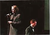 Brian performing with Composer Eric Whitacre