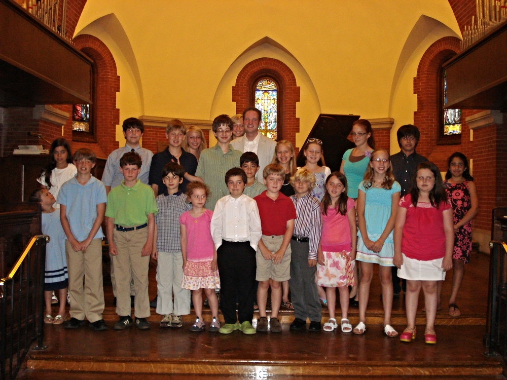 Spring 2009 recital at All Souls Cathedral