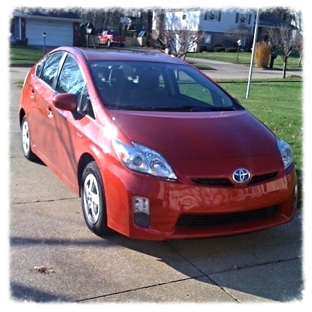 TOYOTA PRIUS HYBRID-ELECTRIC CAR