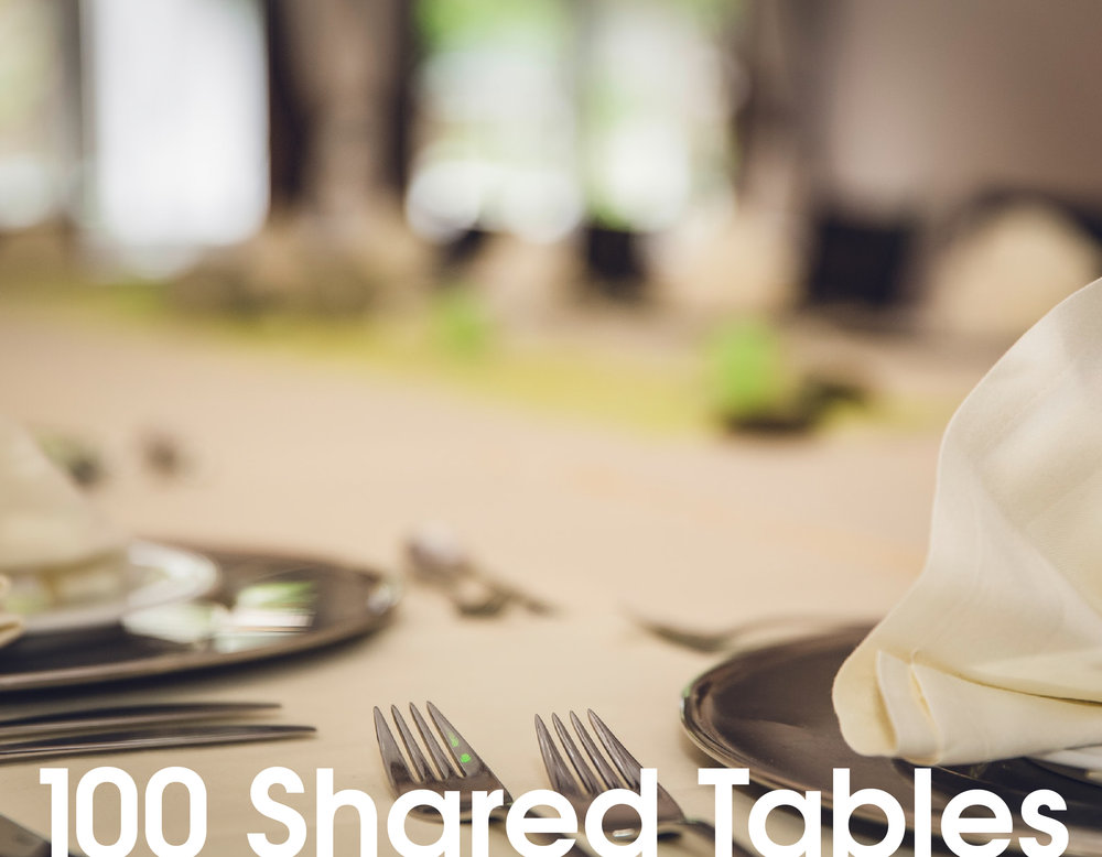 100 Shared Tables
