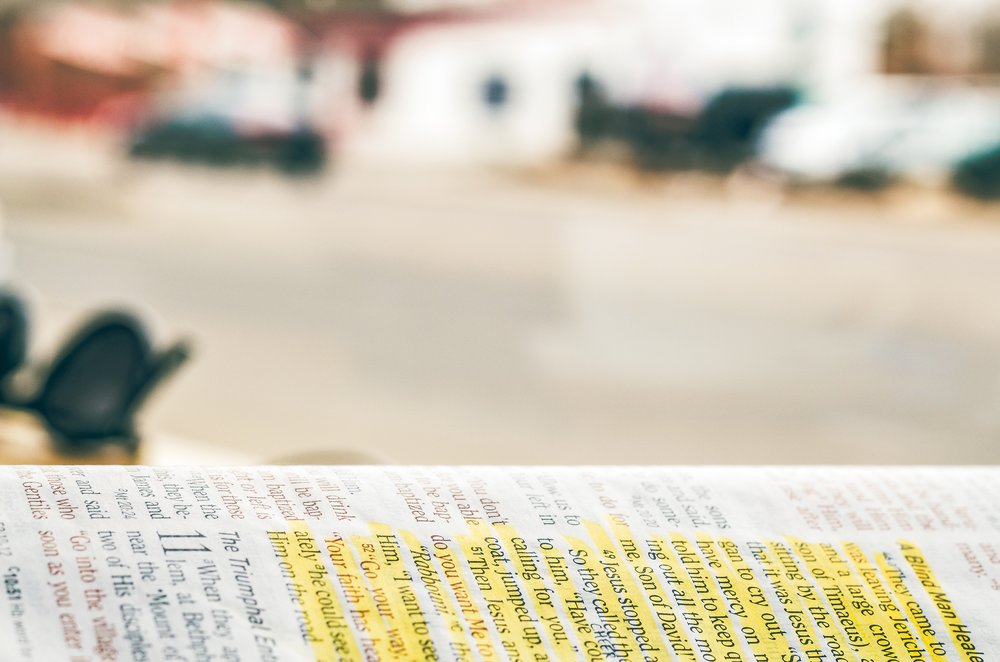 Getting into the Bible -