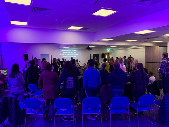 Great to see so many people hungry for God presence tonight some awesome stories of healing and we are expectant for more. Who are you going to invite next week? #thegathering #creatingspaceformore