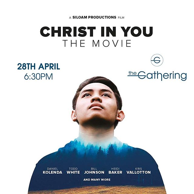 No Gathering this Easter weekend but we'll be back on the 28th with #movienight We're showing #christinyoumovie Cafe opens 6.10, movie starts at 6.30. We'll provide the popcorn. See you there. Who are you going to invite? #thegathering #creatingspaceformore