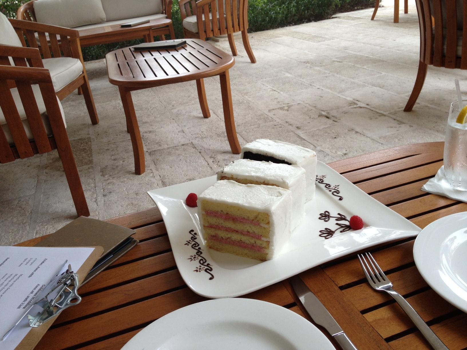 Cake Tasting . . . before