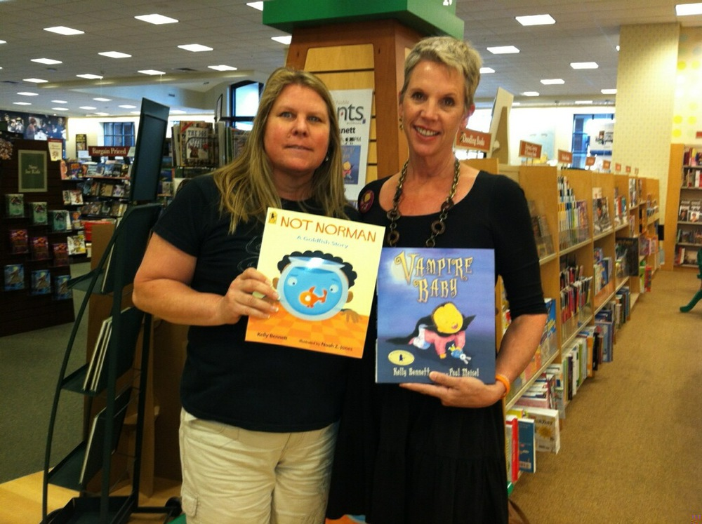 Gretchen, the brand new Guffey Elem librarian, came by the store after work just to scoop up copies for her library!