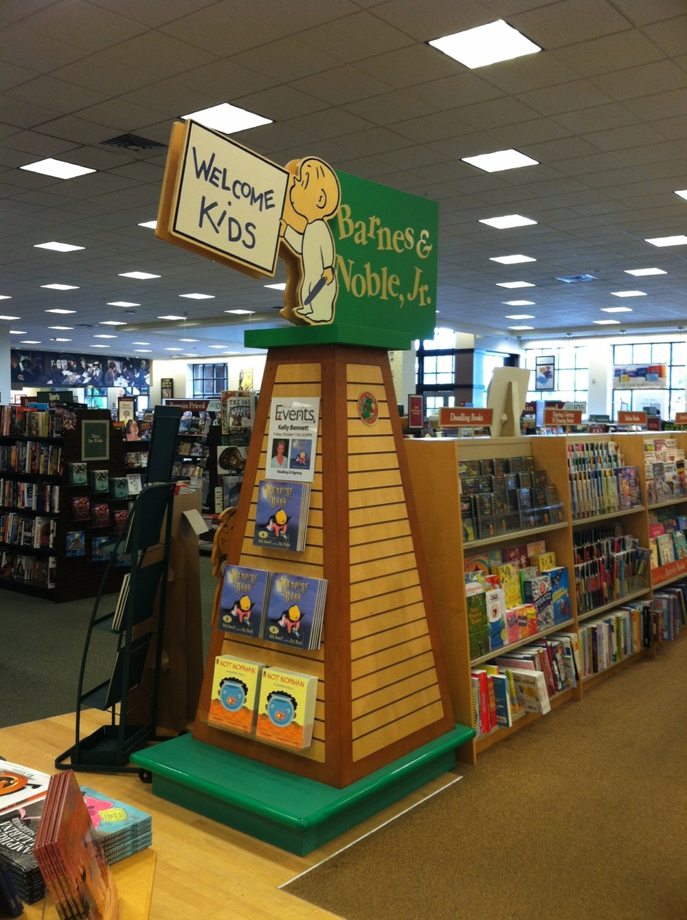B&N Children's Section welcome
