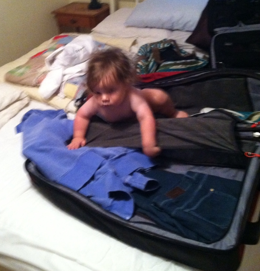 Wait! James was helping me pack in Vermont. Did he take it?