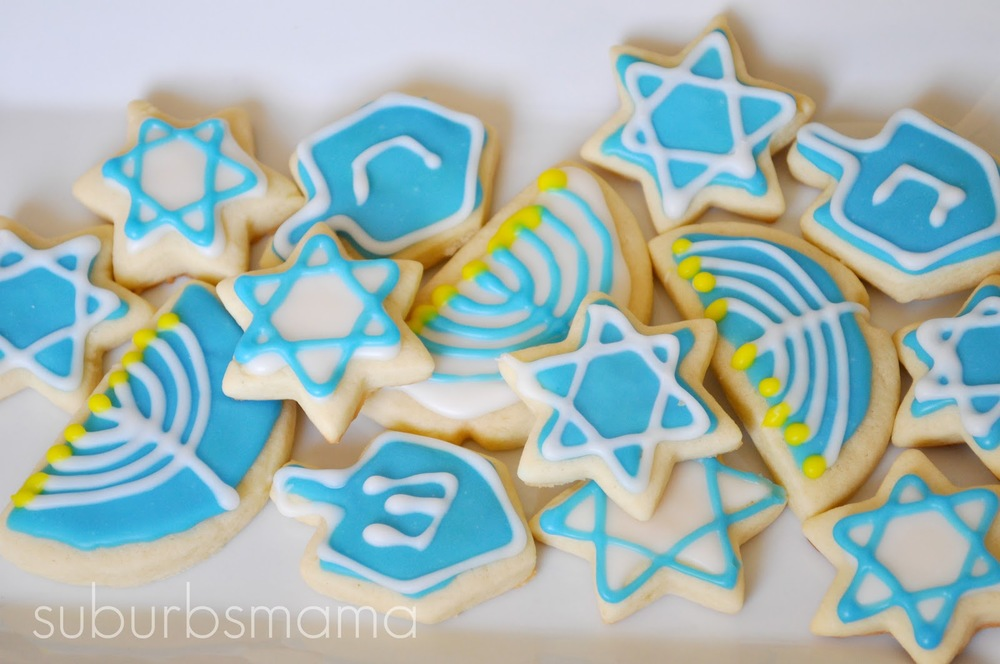 In addition to baking & decorating the best Hanukkah sugar cookies, was educated enough for both of us.
