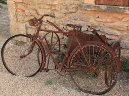When they talk about it being easy as riding a bicyicle, no one ever talks about the bike . . .