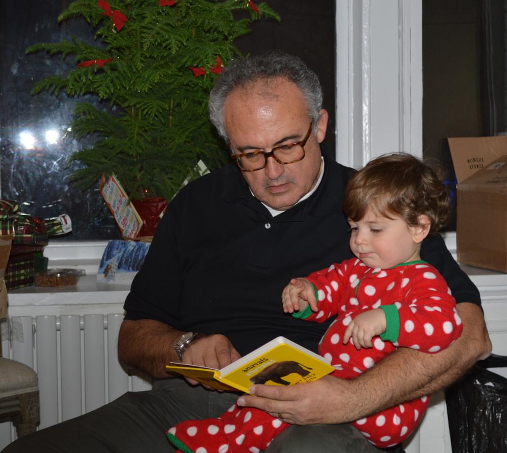 Bennett taught Bapak Curtis to read!