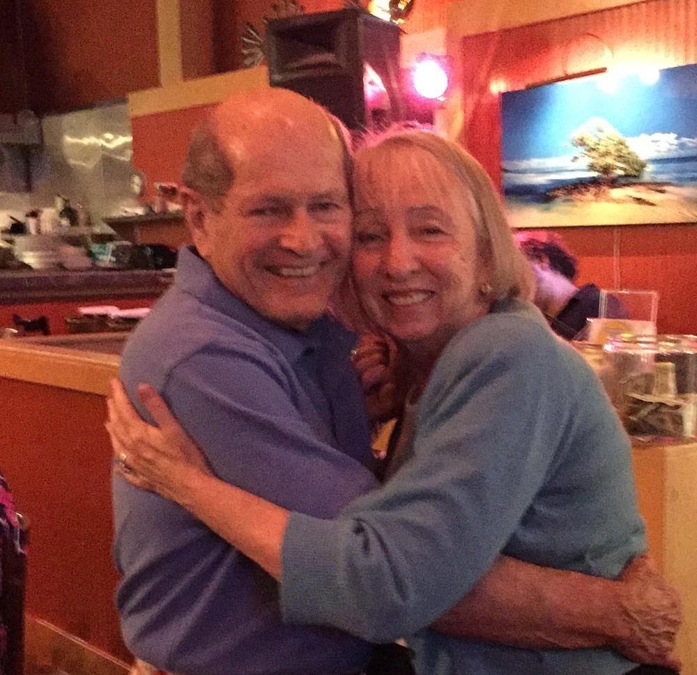 Deborah & John taking a spin!
