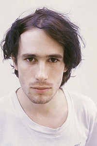Jeff Buckley (Dig the resemblance to Cohen...)
