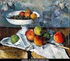 """Cezanne's """"Compotier Glass and Apples"""""""