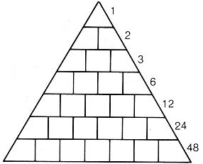 To create the shape, a pyramid poem must have at least 3 lines . . ..