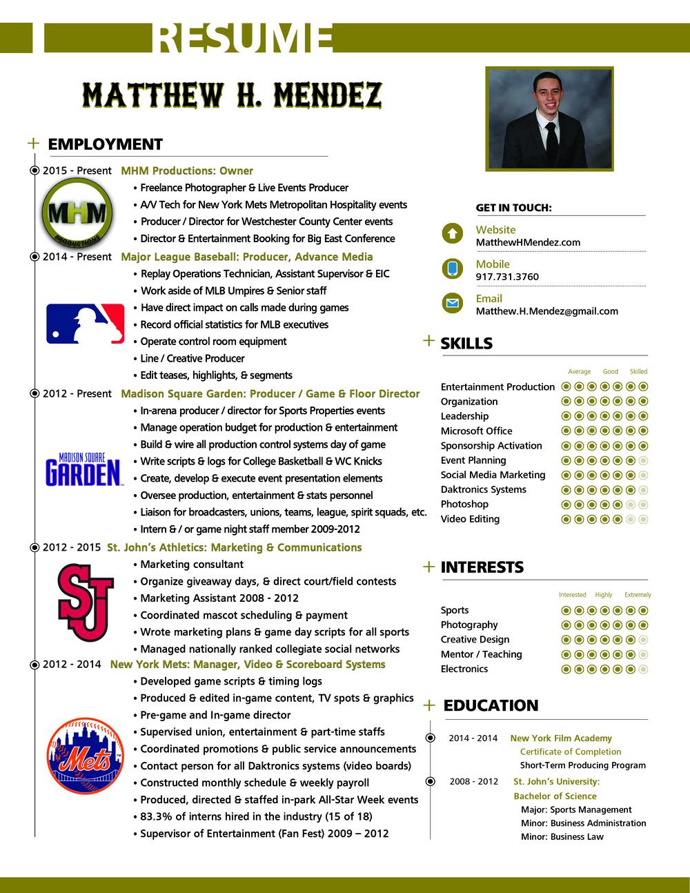 Matthew H Mendez Infographic Resume.jpg