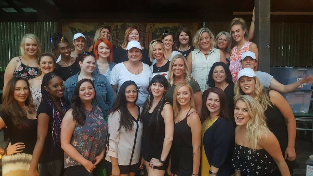 The Illuminators Team at LimeLightPalooza, Austin, TX, July 2017