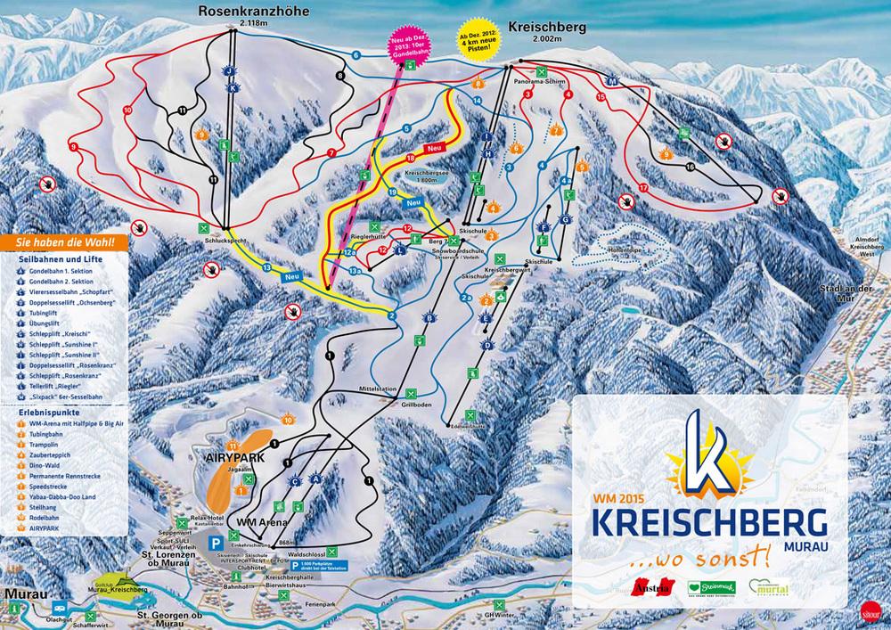 Kreischberg ski region