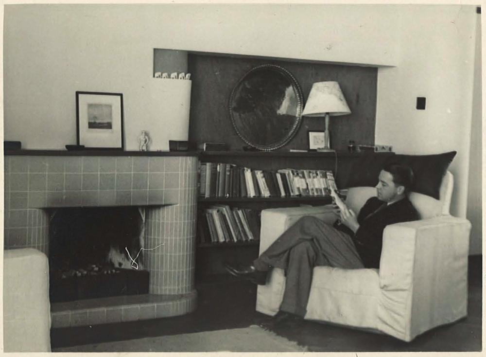 Max at home, 45 Kadoorie Avenue, Kowloon, 1939