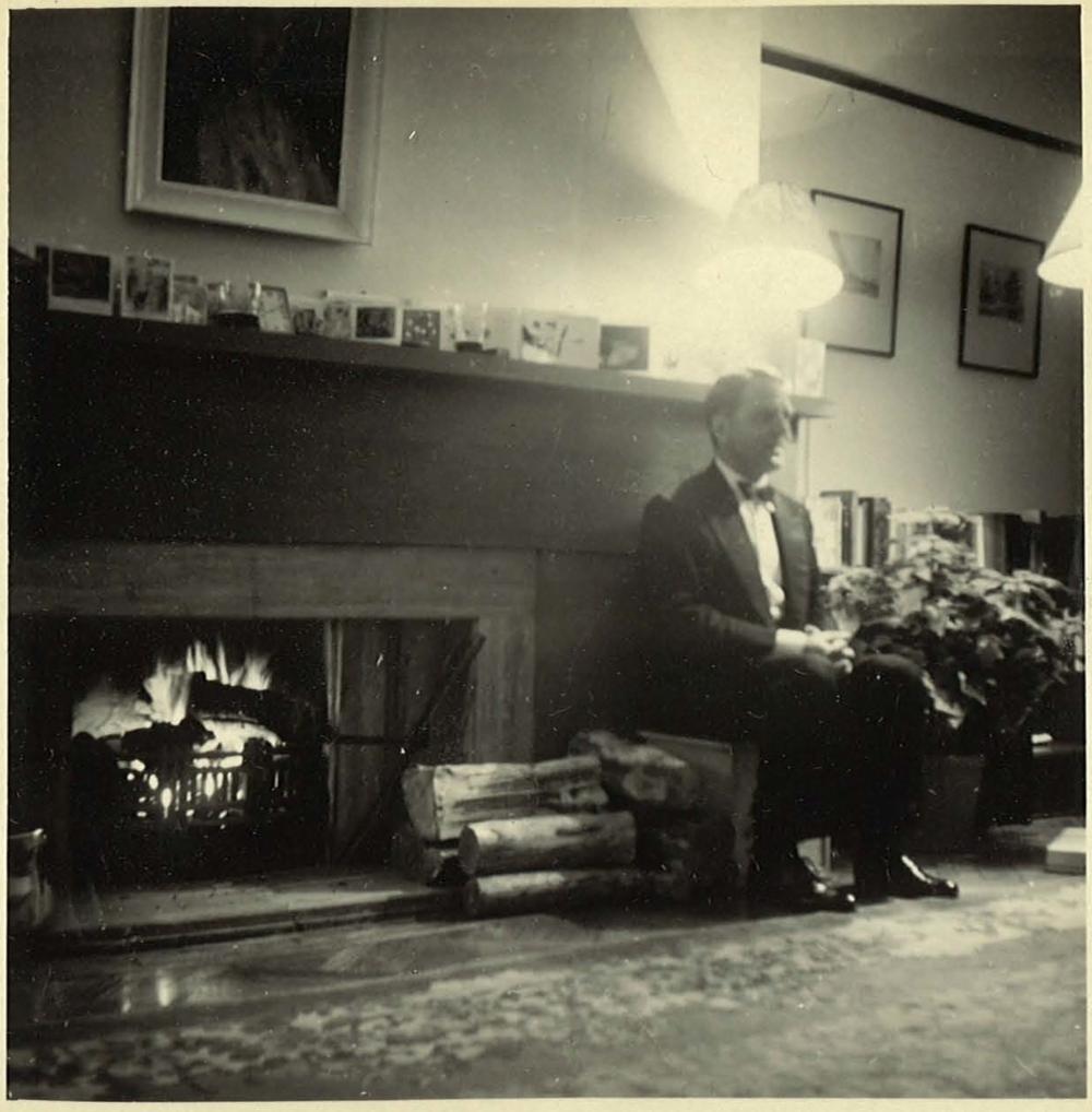 Max at Christmas, 1950