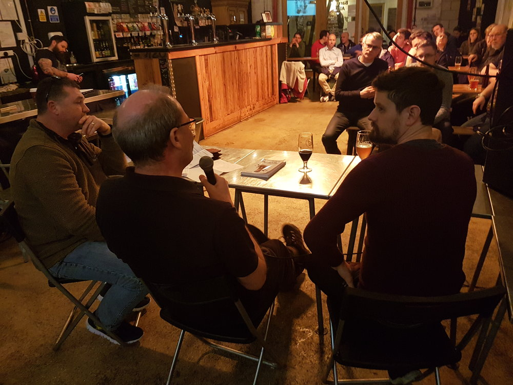 - A busy home brew night with guest speakers