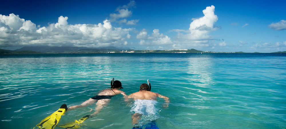 World class snorkeling await in and around Culebra and Vieques.