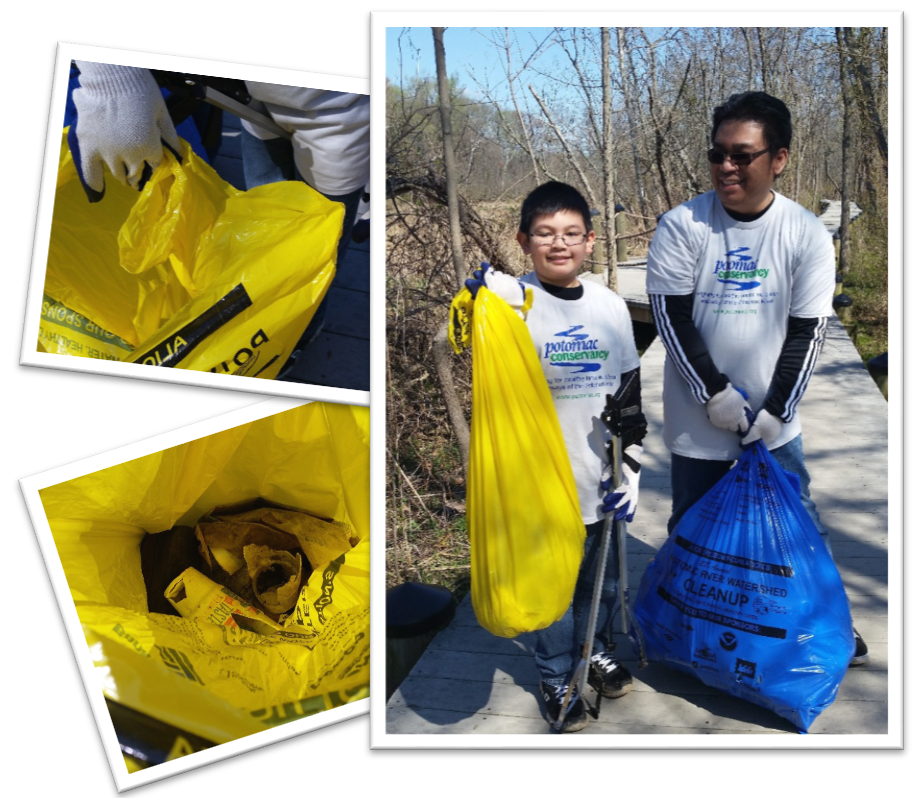 volunteer potomac river cleanup
