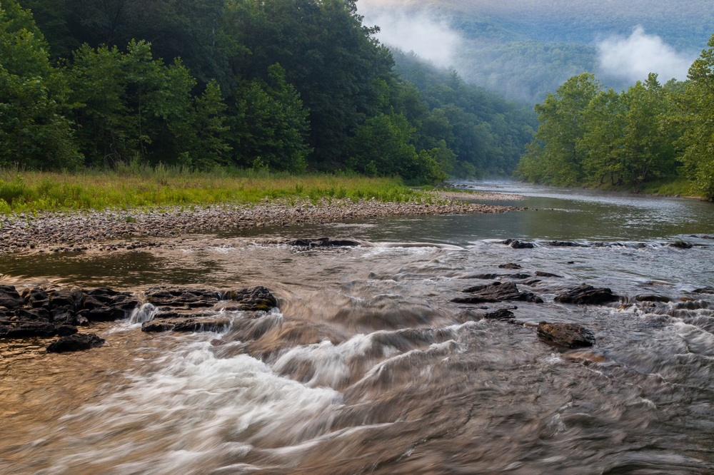 South Fork of the Potomac River. Photo by Kent Mason.