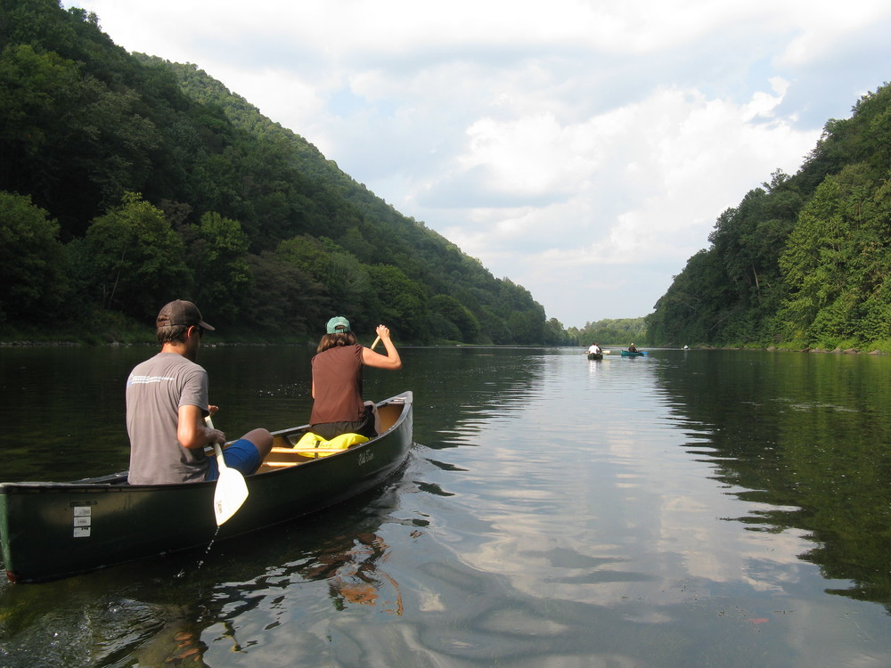 Paddlers on the South Branch Potomac River will forever enjoy the serene green backdrop of White Horse Mountain.