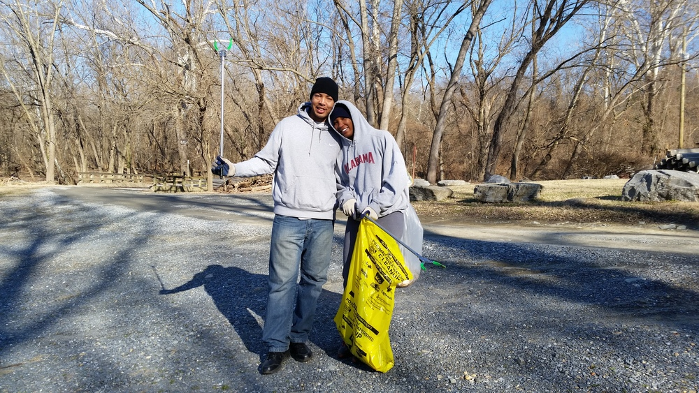potomac river mlk day of service