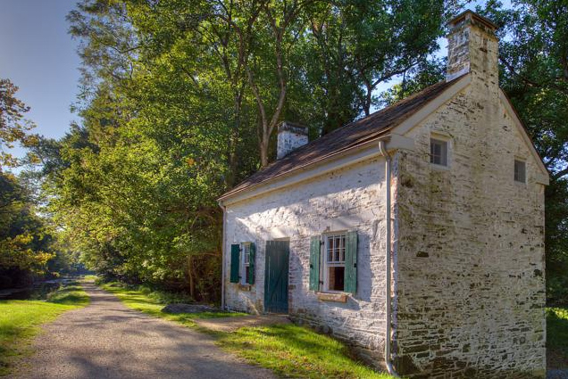 Photo of lockhouse 22 from the C&O Canal Trust