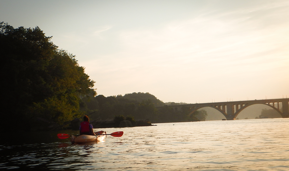 potomac river kayaking