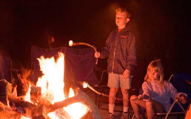 potomac river campfire