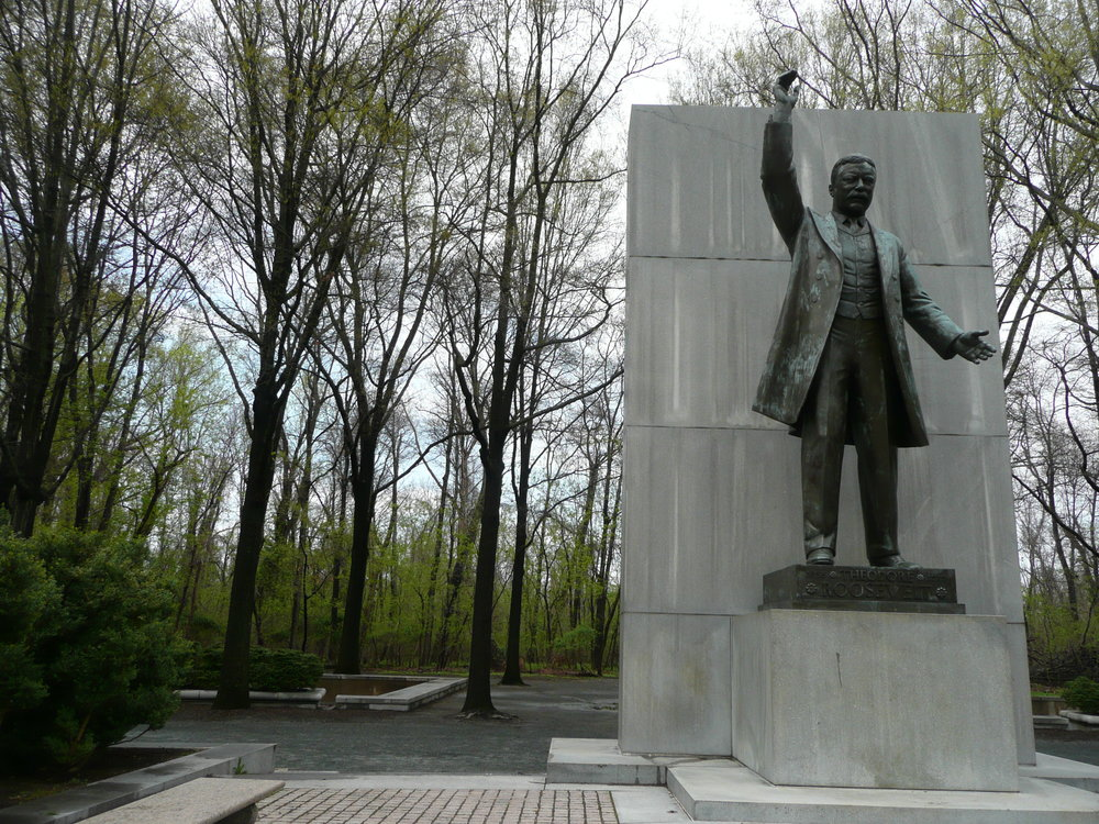 Theodore Roosevelt's memorial on theodore roosevelt island on the potomac. Photo Credit flickr @rocky a