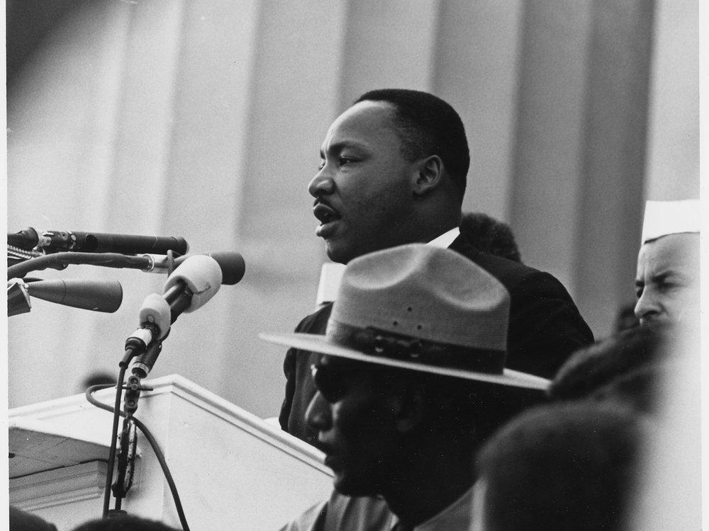 march on washington. photo courtesy of the  us national archives