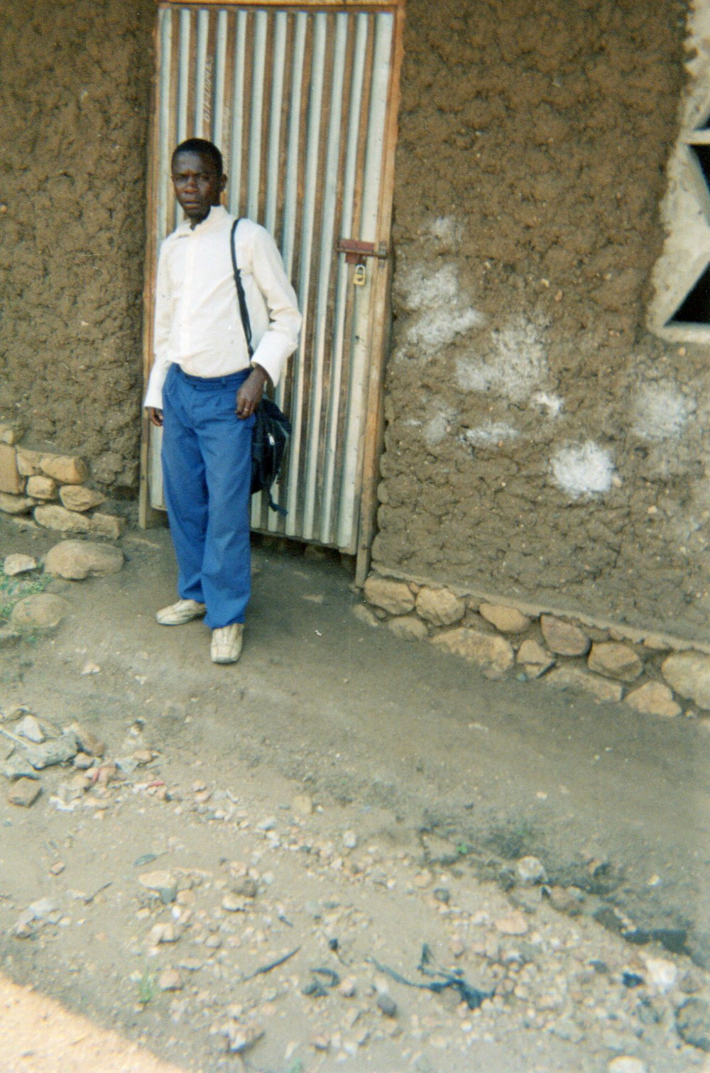 This photo shows that due to lack of money, I was sent away from school. We recommend to both local and international NGOs that the lack of financial resources is the biggest barrier to long-term education reintegration.